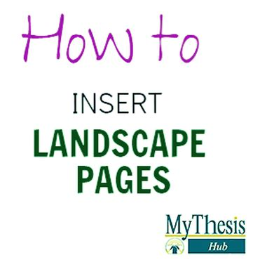How to do dissertation contents pages